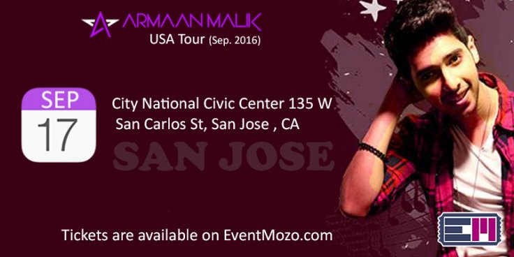 Debut concert of Armaan Malik in USA