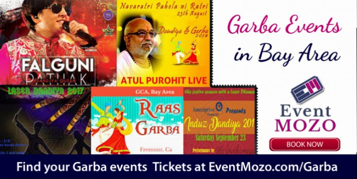 Most Authentic Garba Events in Bay Area