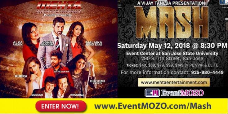 Mehta Entertainment proudly presents Bollywood MASH 2018