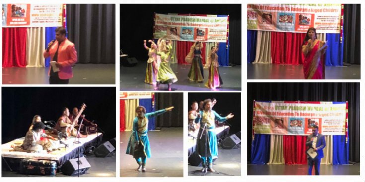Uttar Pradesh Mandal of America organized a Fusion Event for a Cause: Rhythms of India & Japan