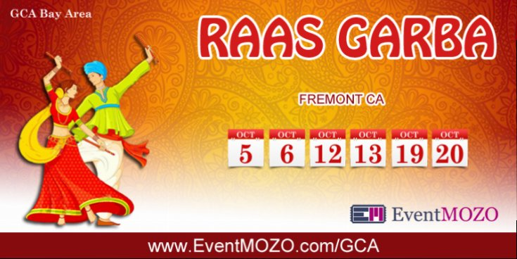 GCA Bay Area Raas Garba is one of the most authentic gujrati garba in Bay Area