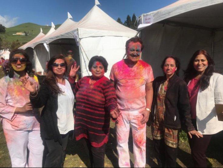 Families graced the Fog Upma Holi Event of 2019