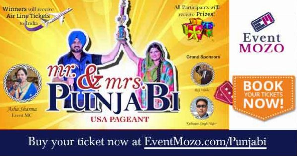 Mr and Mrs Punjabi USA peagent